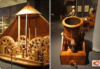 95 -Firenze. Il Museo di Leonardo da Vinci.