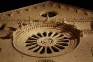 26 - Bari, Cattedrale di San Sabino, particolare del rosone