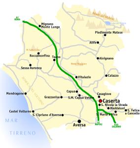 Caserta_map