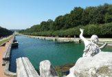 4,1 -Caserta. La Reggia. Il percorso centrale del Parco Reale della Reggia di Caserta lungo quasi 3 chilometri