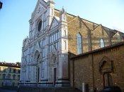 3-Firenze -La basilica di Santa Croce,la facciata