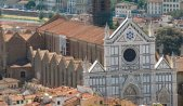 2-Firenze -La basilica di Santa Croce, nell'omonima piazza a Firenze, è una delle più grandi chiese officiate dai francescani e una delle massime realizzazioni del gotico in Italia.