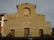 78 -Firenze. La basilica di San Lorenzo. La facciata su piazza San Lorenzo
