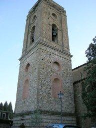 118 -Firenze -La basilica abbazia di San Miniato al Monte. Il campanile