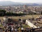 139 -Firenze -Forte Belvedere, panorama.Vista su Firenze