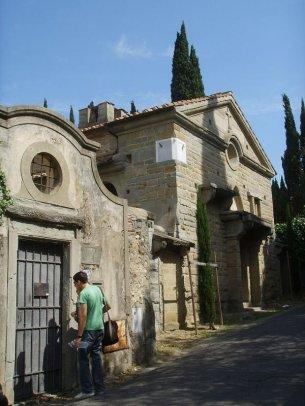 173 -Fiesole. Villa Schifanoia, La cappella