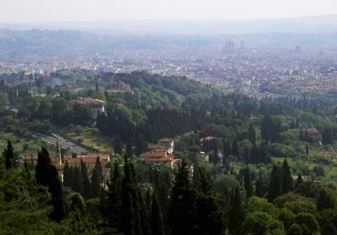 180 - Fiesole - Panoramico su Firenze
