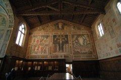 13 -Firenze -La basilica di Santa Croce.La sacrestia
