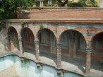 162 -Fiesole. La villa di Maiano. La piscina neogotica
