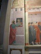 37 -Firenze. La chiesa di Santa Maria del Carmine. La cappella Brancacci, dettaglio