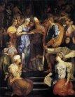 80 -Firenze. La basilica di San Lorenzo, nella seconda cappella della navata destra si trova lo Sposalizio della Vergine (1523. un dipinto a olio su tavola (325x250 cm) di Rosso Fiorentino, firmata e datata 1523,