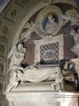 132 -Firenze -La basilica abbazia di San Miniato al Monte -Cappella del Cardinale del Portogallo, tomba del cardinale di Antonio Rossellino