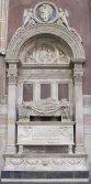 16 -Firenze -La basilica di Santa Croce.Bernardo Rossellino, tomba di Leonardo Bruni