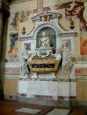 17 -Firenze -La basilica di Santa Croce.Tomba di Galileo Galilei