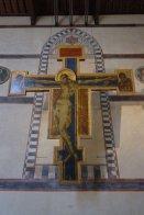 19 -Firenze -La basilica di Santa Croce.Il Crocifisso di Cimabue