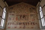 23 -Firenze -La basilica di Santa Croce.Il Cenacolo di Taddeo Gaddi