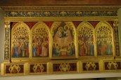25 -Firenze -La basilica di Santa Croce.Il Polittico Baroncelli