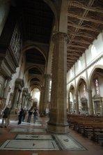 7 -Firenze -La basilica di Santa Croce.Navata laterale