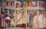10 -Firenze -La basilica di Santa Croce. Ascensione di San Giovanni, Giotto, Cappella Peruzzi
