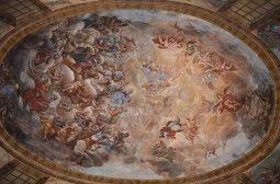 58 -Affresco del Soffitto del Cappellone di San Cataldo - Basilica Cattedrale di San Cataldo (Taranto