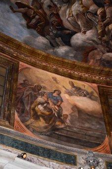 59 -Particolare della Parete Affrescata del Cappellone di San Cataldo - Basilica Cattedrale di San Cataldo (Taranto)