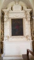 124 - Lecce. Il Palazzo del Seminario, Altare dedicato a S. Domenica