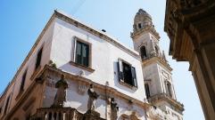 42 - Lecce. Particolare della via.