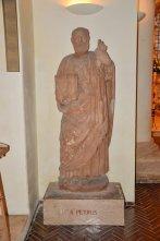 101 -Scultura di San Pietro - Chiesa San Domenico Maggiore - sec XIV (Taranto)