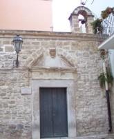 23 - Trani. Casa dell'ebrea in cui sarebbe avvenuto il miracolo eucaristico, oggi Chiesa del Miracolo Eucaristico
