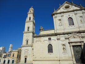 47 - La cattedrale metropolitana di Santa Maria Assunta è il principale luogo di culto cattolico di Lecce, Si trova in piazza del Duomo, nel centro storico della città.