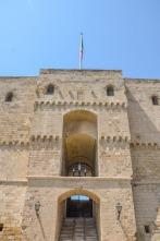 19 -Particolare dell' Ingresso - Castello Aragonese di Taranto