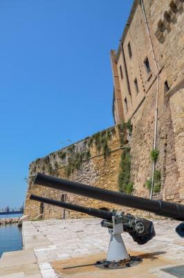 21 -Mitragliatrici - Castello Aragonese di Taranto (Taranto)