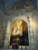 39 -Lecce. Basilica di Santa Croce, interni, particolari