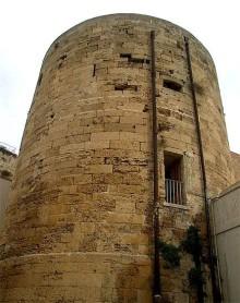 44 - Brindisi castello Svevo o di terra, particolare