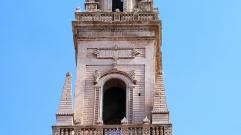 53 -Lecce. Il Campanile del Duomo, dettagli.