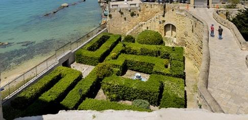 24 -Vista del Giardino e del Mare - Castello Aragonese di Taranto