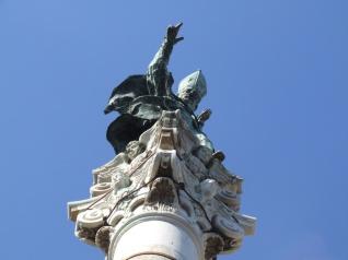 14 - Lecce. Piazza Sant'Oronzo, dettaglio