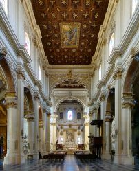 90 - Lecce_duomo_La navata centrale