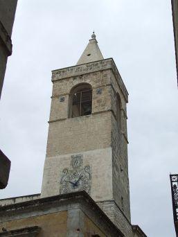 8 - Andria. Torre dell'Orologio, costruita all'epoca di Francesco II .