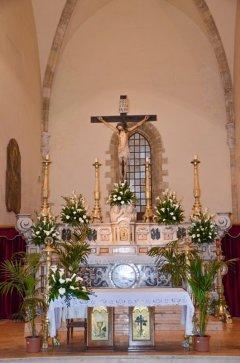 94 -Altare Maggiore - Chiesa San Domenico Maggiore - sec XIV (Taranto)