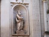 60- Lecce. Duomo, particolare della facciata.- San Paolo