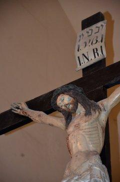 95 -Particolare del Crocifisso - Chiesa San Domenico Maggiore - sec XIV (Taranto