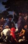 """105 -Lecce. Il Duomo. Particolare del dipinto, pala d'altare, """"San Giusto"""", olio su tela.Datazione: metà XVII secolo.Autore: Coppola Giovanni Andrea, ambito salentino"""