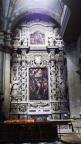 108- Lecce. Il Duomo. Cappella di Sant'Andrea Apostolo. Prima della navata sinistra, fu costruita a spese dell'abate Giovan Andrea Gustatane e l'altare fu scolpito nel 1700, da leccese Cesare Penna.