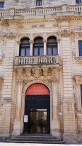 115 - Lecce. Il Palazzo del Seminario dettagli.