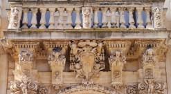 116 - Lecce. Il Palazzo del Seminario, dettagli