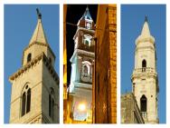 3 - Andria. Per la presenza dei suoi tre alti campanili, viene conosciuta anche come la città dei tre campanili