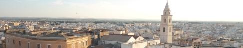 1 - Andria Panorama della città . capoluogo insieme a Barletta e Trani, della provincia di Barletta-Andria-Trani, in Puglia. Simbolo della città e di tutta la Puglia è Castel del Monte, situato su una collina poco fuori dall'abitato, uno dei patrimoni dell'umanità dichiarati dall'UNESCO