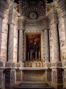 33 -Lecce. Basilica di Santa Croce, Cappella di San Francesco da Paola