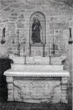 24 - Trani. Chiesa di Sant'Andrea. Chiesa del miracolo, interno cappella S.s. Salvatore